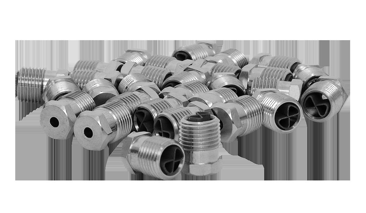 Hydropulsion Nozzle Inserts
